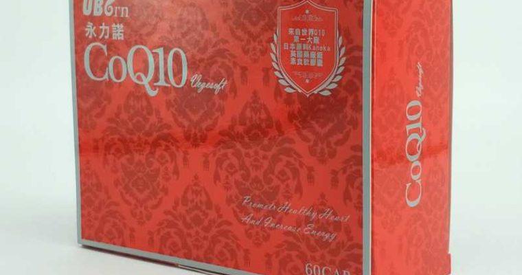 永力諾Q10 NTD$2100,HKD$570/60顆 (軟膠囊)